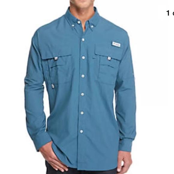8bd543f6166 Columbia Shirts | Mens Nwt 2xl Pfg Bahama Ii Fishing Shirt | Poshmark